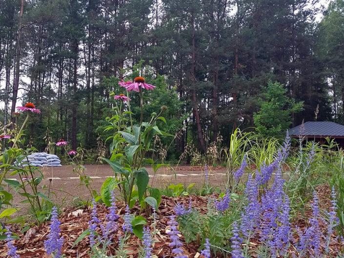 realizacja ogrodu na ukończeniu
