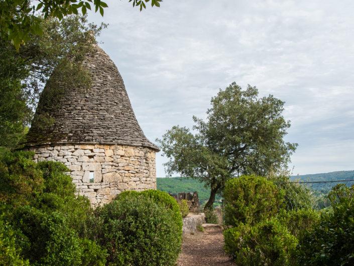 punkt widokowy w parku Marqueyssac