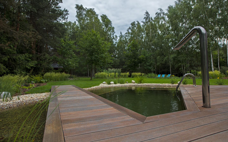 garden natural pool