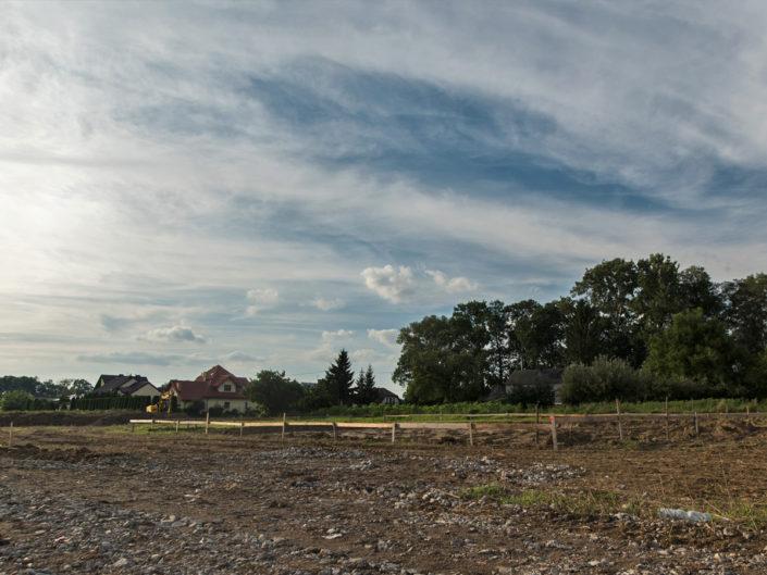 zanim wykonany zostanie ogród